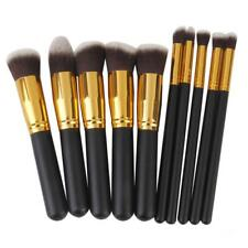 10pcs Makeup Brushes Kit Foundation Face Powder Kabuki Eyeshadow Blush Brush Set