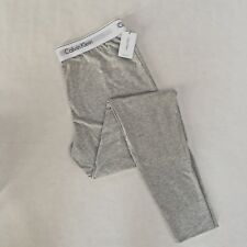 Calvin Klein Gray PJ Cotton Sleep Lounge Pants