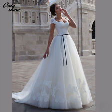 Lace Wedding dress Ball Gown Prom Dress Bridal Gown For Evening party in Stock