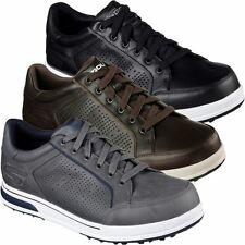 SKECHERS 2017 GO GOLF DRIVE 2 LX PREMIUM LEATHER MENS SNEAKER STYLE GOLF SHOES