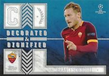 2015-16 Topps UEFA Champions League Showcase 'Decorated & Dignified' - Different