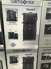 SAMSONITE STACKIT 2 PIECE SET - SUITCASES BRAND NEW IN BOX SUITCASE & CABIN CASE