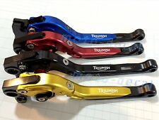Brake Clutch Triumph SPEED FOUR (2005-2006) Folding Adjustable Engrave Lever