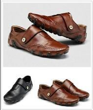 Men's Leather Shoes Classic Fashion Casual Loafers Driving Moccasins Flats