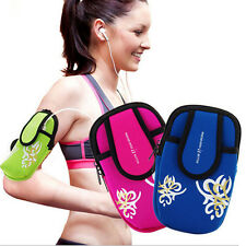 Outdoor Sports Running Wrist Pouch Mobile Cell Phone Arm Band Bag Wallet CHCA
