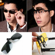 Sunglasses Polarized Lens Clip-On for Myopic Nearsighted Glasses Night Driving