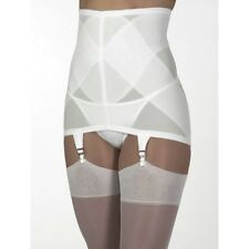 VINTAGE STYLE Firm Control Open Bottom Girdle 6 Garters various sizes