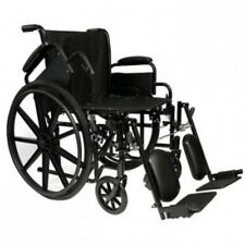 "ProBasics Invacare  18"" Lightweight Wheelchair, Flip Back Arm-Choose Footrest"