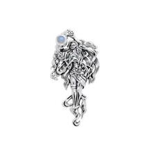 Mickie Mueller Celestial Moon Goddess Pendant by Peter Stone sterling silver