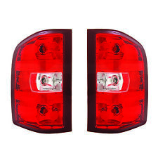NEW TAIL LIGHT PAIR FIT GMC SIERRA 2500 3500 HD SLE SLT DUAL REAR 2011 GM2801249