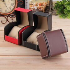 PU Leather Watch Box Display For Watch Jewelry Case Gift Box OR