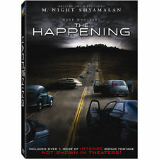 The Happening (DVD, 2009, Widescreen) Mark Wahlberg, Zooey Deschanel
