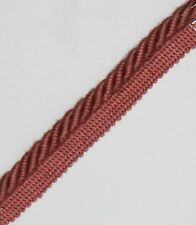 FLANGED BINDING/PIPING 8 MM CORD, PINK  X 2 / 5 / 10  MTRS,FREE P&P - PL-3133