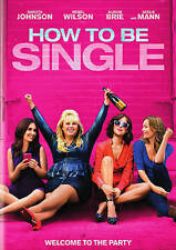How To Be Single  NEW (DVD) Free Shipping