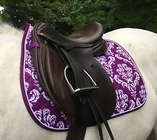 Patterned Saddle Cloth Pad