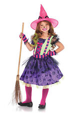 New Leg Avenue C49101 BLACK CAT WITCH KIDS COSTUME
