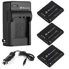 Li-90B Battery / Charger For Olympus LI-92B TG-4 TG-2 TG-3 TG-1 iHS SP-100 SH-60