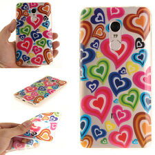 Love Pattern Rubber Soft TPU Silicone Phone Back Case Cover For Various Phone