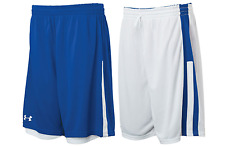Under Armour mens Undeniable reversible Basketball Shorts  Royal / White 3xl