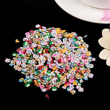 1000x Nail Art Mix Design Fimo Slices Polymer Clay Stickers Decoration US