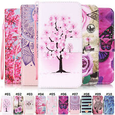 Fashion Magnetic Wallet PU Leather Holder Various Cover Case For Samsung Galaxy