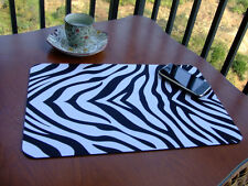 New Anti Slip Zebra Pattern Mouse Pad Mat Mice Mousepad Free Shipping to USA