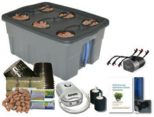 Complete Hydroponic System Self-watering BUBBLER Grow kit #12 H2OToGro