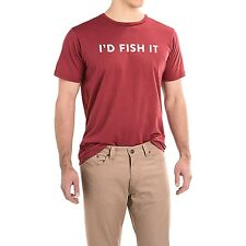 Dolly Varden I'd Fish It Fishing T-Shirt - Choose Size - Color Red - NEW!