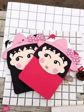 Chibi Maruko-chan Soft Silicone Rubber Protective Case Cover for Various iPad