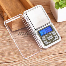 New 500g x 0.01g 0.1g Mini Digital Pocket Jewelry Scale Calibration Weights