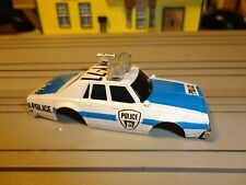 Ho Slot Aurora AFX Police HY-71 Lighted Chevy Caprice Body CLEAR LIGHTS RARE.2