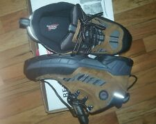 6668 RED WING Shoes STEEL TOE Work Boots. Us size 7 D. HIKER Safety