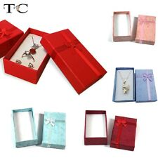 Wholesale 24pcs/lot Necklace Earring Pendant Ring Box Packaging Gift Jewelry Box