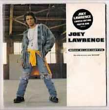 """Joey Lawrence-Nothin' My Love Can't Fix 7"""" 45-Impact American, EM 271, 1993, Pla"""