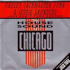 """Farley  Jackmaster  Funk And Jessie Saunders*-Love Can't Turn Around 7"""" 45-Londo"""