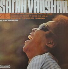 Sarah Vaughan-Sings With The Hollywood All Stars LP-Boulevard, 4103, 1973, 12 Tr
