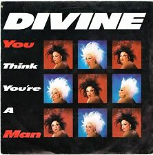 "Divine-You Think You're A Man 7"" 45-Proto Records, ENA 118, 1984, Plain Sleeve"