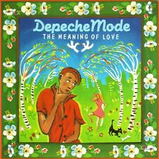 """Depeche Mode-The Meaning Of Love 7"""" 45-Mute, 7 MUTE 022, 1982, Plain Sleeve"""