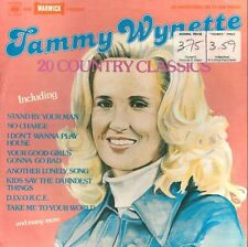 Tammy Wynette-Twenty Country Classics LP-CBS Warwick Records, PR 5040, 1977, 20