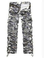 Stylish Men's Pants Casual Cotton Camouflage Loose Straight Pants Trousers