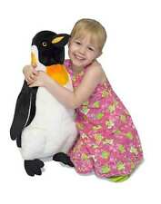 Giant Penguin Plush Huge Big Jumbo Lifelike Stuffed Animals Kids Boys Toys