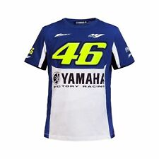 Official 2016 Yamaha VR46 Valentino Rossi MotoGP Blue Men's T-Shirt 46 All sizes