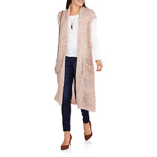 Faded Glory Women's High Slit Long Duster Cardigan Size XXL (20)