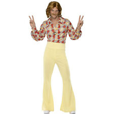 Groovy Guy 60s 70s Disco Mens Disco Hippie Flares Fancy Dress Costume 39436