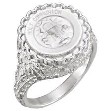 Holy Communion Signet Ring Sterling Silver