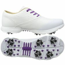 SALE! LADIES HI-TEC DRI-TEC CLASSIC LEATHER WOMENS SPIKES GOLF SHOES-WATERPROOF