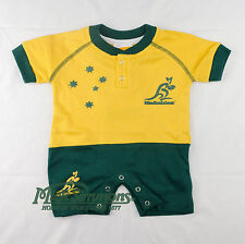 Wallabies Original Infant Short Footysuit (Baby onesie)