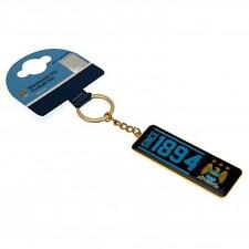Official Licensed Football Team Key Rings Manchester City Key Chain Crest Design