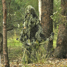 Tactical Woodland Camouflage Ghillie Hood Suit Hunting Clothes Camo Shade Cloth