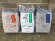 TOP QUALITY SMALL BALE PACK HAYLAGE HAY STRAW BEDDING FEED FOR HORSES PETS